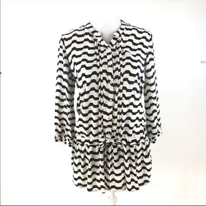Anthropologie Isabella Sinclair striped blouse XS